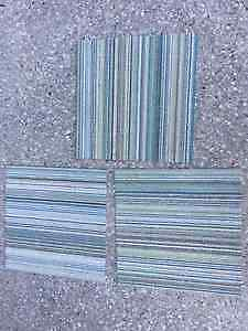 FLOR Jade stripe carpet tiles - 30 tiles