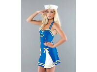 Sailor Girl Fancy Dress - Ann Summers BNIP