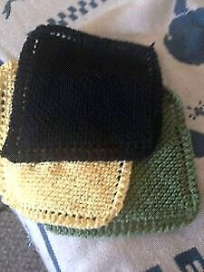 HAND KNITTED DISH CLOTHS 2.00 EACH Kitchener / Waterloo Kitchener Area image 2