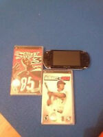 SONY PSP WITH 2 GAMES! VERY GOOD CONDITION, $50