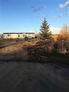 Acreage with Manufactured Home and  Large Addition