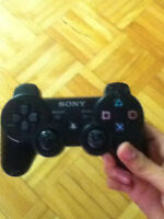 PS3 CONTROLLER WITH 5 GAMES! NEGOCIABLE!