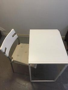 Portable Table with Chair