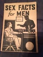 "Selling antique padell book ""sex facts for men"" 1930's!"