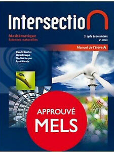 Maths SEC 4 - Intersection Sciences naturelles