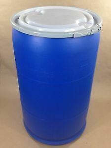 55 Gallon Open Top Barrel Drum Plastic.
