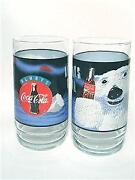 Coca Cola Polar Bear Glasses