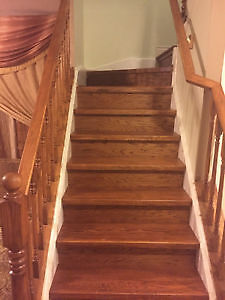 Hardwood Stair Restoration