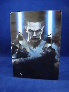 The Following Star Wars: The Force Unleashed 2 Game/Steelbook