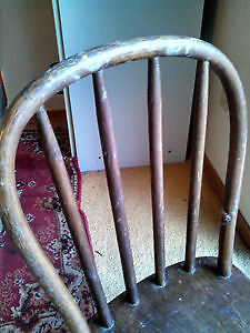 """NICE ANTIQUE SOLID WOOD CHILDREN'S CHILD'S CHAIRS,  """"HOOP BACK"""" Cambridge Kitchener Area image 5"""