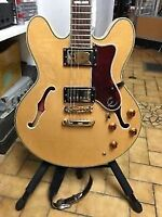 EPIPHONE BY GIBSON BROADWAY NATURAL ARCHTOP SEMI HOLLOW ELECTRIC