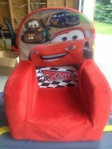 Disney Lightning McQueen Chair