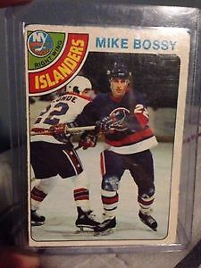 1978-79 Mike Bossy ROOKIE CARD
