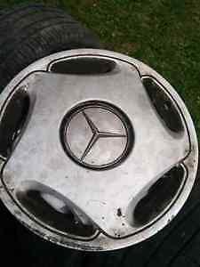 Mercedes wheels cap