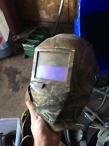 Miller auto set 140 welder and helmet