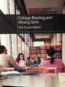 WRIT 100 College Reading and Writing Skills
