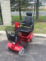 Fortress Scooter 1700 DT RED COLOR - Very Comfortable Ride -