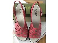 Ladies summer sandles from Hotter shoes brand new