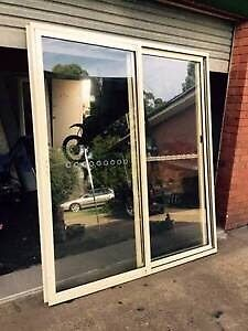 2 to choose from prime rose aluminium sliding door Casula Liverpool Area Preview