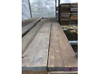 Reclaimed Scaffold Boards 3ft-13ft