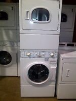 Stackable Commercial Washer and  Dryer Combo