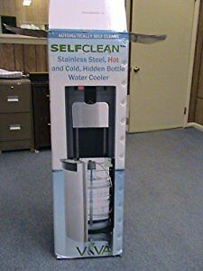 Viva Base Load Self Clean Stainless Steel Water Cooler Hot & Col