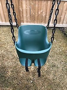 Like New: Playstar Commercial Grade Toddler swing: retails $136
