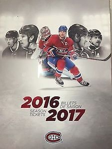 billets des canadiens section 324 BB 326 AA