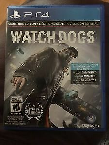 Watch Dogs Édition Signature-Signature Edition  valeur de $35.00