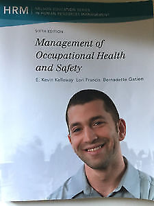 Management of occupational health and safety 6th edition