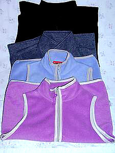 Polar fleece Vests : Children/Youth : Clean,SmokeFree:ExCond