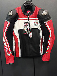 DUCATI CORSE 14 PELLE LEATHER JACKET TRADE ACCEPTED
