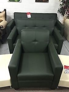 Brand new three PC green sofa set for only $999!