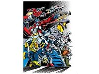 wanted TRANSFORMERS comics toys anything