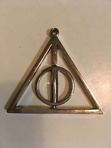 Harry Potter Dumbledore Choc. Frogs  & Deathly Hallows Pendant London Ontario image 5
