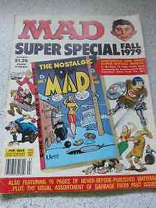 MAD MAGAZINE – MAD SUPER SPECIAL FALL 1979