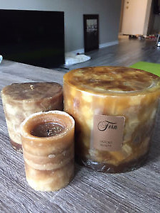 3-piece candle set