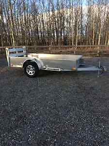 BRAND NEW 2017 ALUMINUM ATV / UTILITY TRAILER by STRONGHAUL