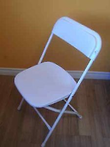 LARGE QUANTITY COSCO MOLDED RESIN FOLDING CHAIRS - NEW & USED Stratford Kitchener Area image 4