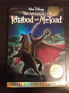 SEALED DISNEY DVD - The Adventures of Ichabod and Mr. Toad Kitchener / Waterloo Kitchener Area image 2