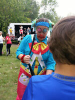 Forfait simple clown sculpture ballons barbe à papa jeu et plus