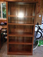 Chocolate Brown Bookcase