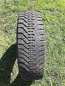 2  P195 60R15 GOODYEAR M&S TIRES