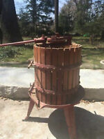 Grape/Wine Press