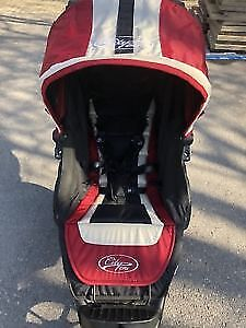 Baby Jogger City Elite Stroller and Accessories