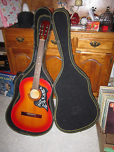 Classical Acoustic Guitar With Extras For Sale