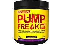 Gym Supplements PUMP FREAK, BCAA ALLMAX AND EFECTIV MASS GAINER 5.4kg