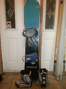 Kemper Snowboard, Fresh boots and Oakley bindings