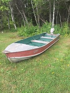 Springbok 14 foot Fishing Boat - With Trailer and Motor