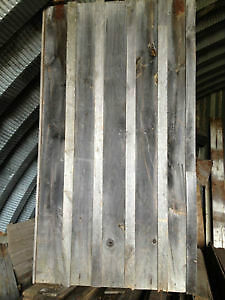 board and batten sliding barn doors incl track and all hardware